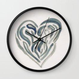 Tearful Heart Wall Clock