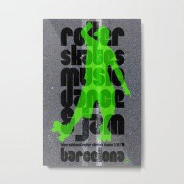 """International Roller Street Dance Barcelona"" Metal Print"
