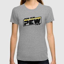 Pew pew pew - lightsaber sound T-shirt