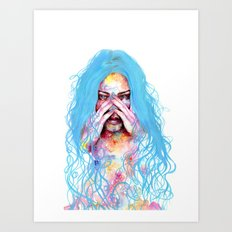 My True Colors Art Print