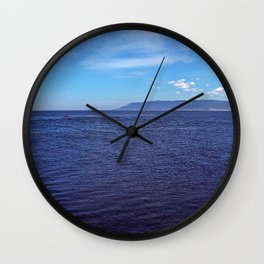 Across the Bay Wall Clock