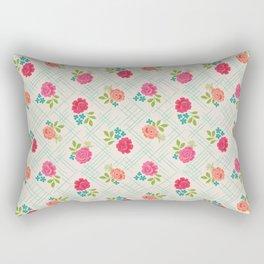 Vintage Farm floral Rectangular Pillow