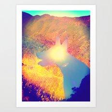 Feeling Sunny Art Print