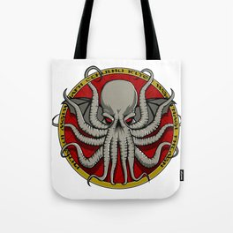 Cthulhu Face Tote Bag