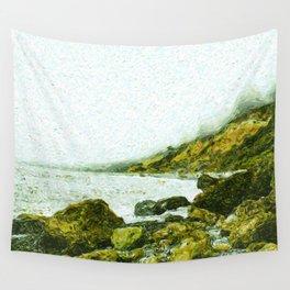 Ruby Beach Wall Tapestry