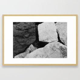 Stones IV Framed Art Print