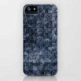 Ink Stitch: Sapphire Blue (dark) iPhone Case
