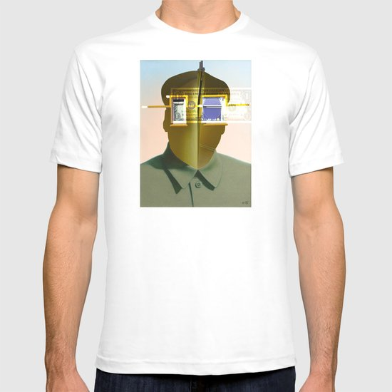 Mao as wound 4 Collage T-shirt