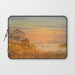 Duck Hunters Calling Laptop Sleeve