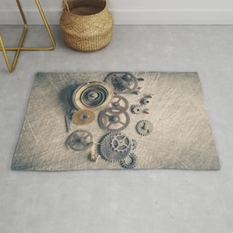 Watch Cogs and Gears Rug
