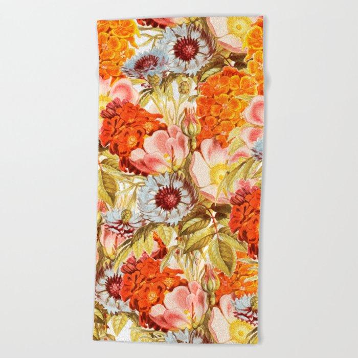 Coral Bloom #society6 #decor #buyart Beach Towel