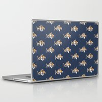 study Laptop & iPad Skins featuring Koi Study by Ken Coleman