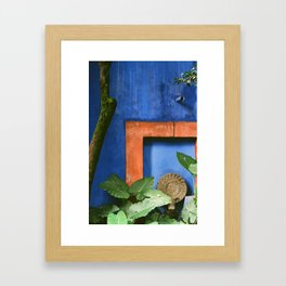 Casa Azul Framed Art Print