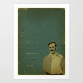 Blackburn - Crompton Art Print