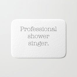 Shower singer Bath Mat