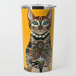bengal cat saffron Travel Mug