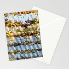 Love padlocks - Paris, France Stationery Cards
