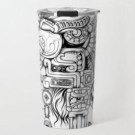 Mayan Warrior Travel Mug