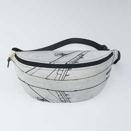 BOEING 747 Fanny Pack