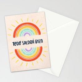 Todo Saldrá Bien Arcoíris Stationery Cards