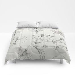 Chrysanthemums Comforters
