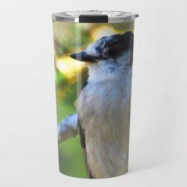 Gray is the new black! Travel Mug