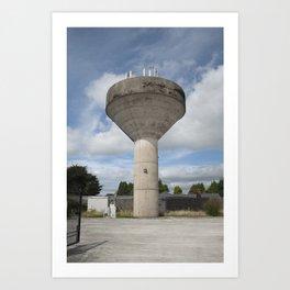 Callan #01 - Water Towers of Ireland Art Print