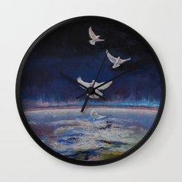 Doves Wall Clock
