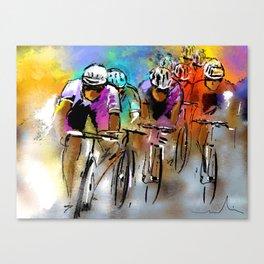 Le Tour De France 03 Canvas Print