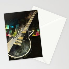 Come on Feel the Noise (Gibson Lp) Stationery Cards