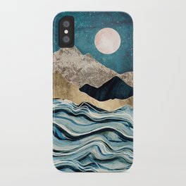 Indigo Sea iPhone Case