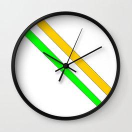flag of ireland 6 -ireland,eire,airlann,irish,gaelic,eriu,celtic,dublin,belfast,joyce,beckett Wall Clock