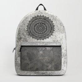 Charcoal Mandala Backpack