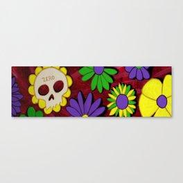 Flower Deck Canvas Print
