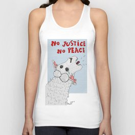 No Justice No Peace Unisex Tank Top