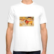 The Roaming MEDIUM Mens Fitted Tee White