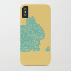 Flowers for my bunny iPhone X Slim Case