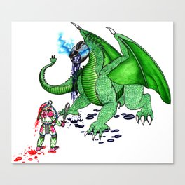 Tea Slayer Canvas Print