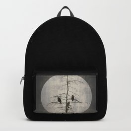 Full Moon and Crows Backpack