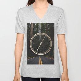 Gold Compass - The Road to Wisdom Unisex V-Neck