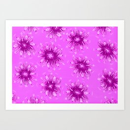 Lavender Christie Rose Art Print