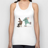 lincoln Tank Tops featuring Lincoln by The Drawbridge