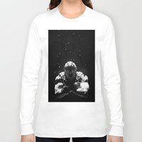 bane Long Sleeve T-shirts featuring Bane by Sam Rowe Illustration