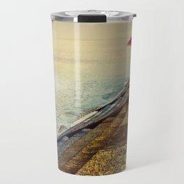 Breakwater on Lake Ponchartrain Travel Mug