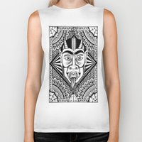 devil Biker Tanks featuring Devil by Cady Bogart