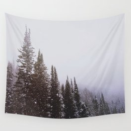 Misty Pines Wall Tapestry