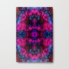 Eye Kaleidoscope Candy Metal Print