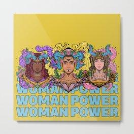Woman Power (Boss Babe Series) Metal Print