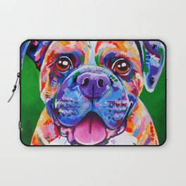 Boxer Dog Bright Painting Laptop Sleeve