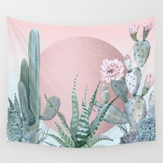 Desert Sunset by Nature Magick Wall Tapestry